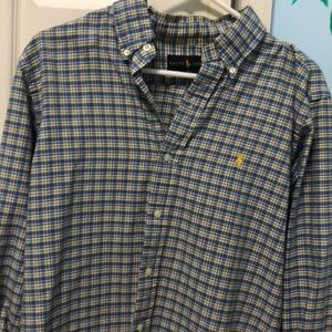 Plaid Polo Ralph Lauren Long Sleeve Button Down